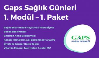 Gaps Sağlık Günleri 1. Modül - 1. Paket